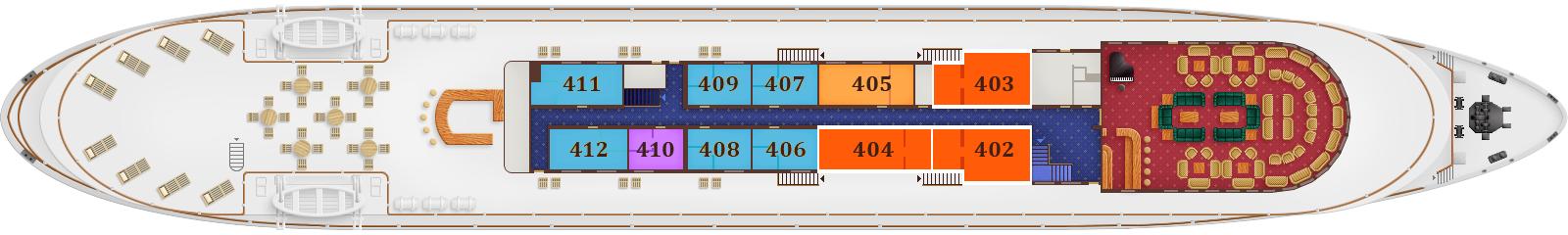 Deck Plan. Sun Deck