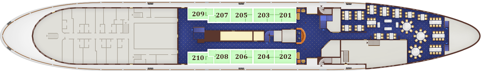 Deck Plan. Main Deck