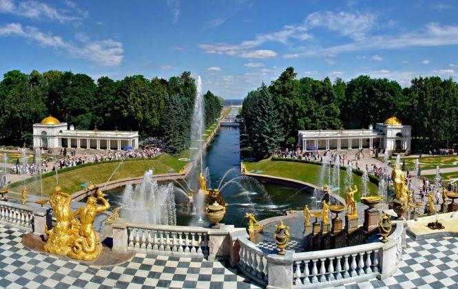 St. Petersburg. Petehof