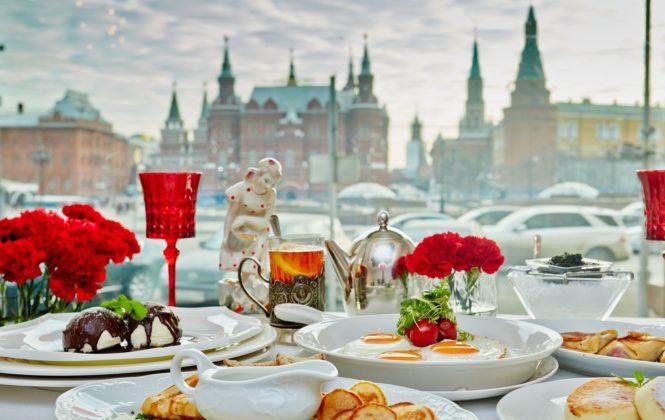 Moscow. Dr. Zhivago Café