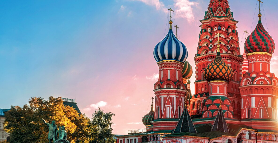 Moscow. Red Square. St. Basil Cathedral